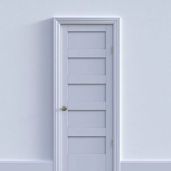 Jakie kolor drzwi do pokoju?
